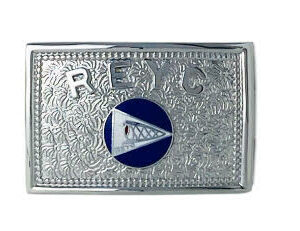 buckle with custom seal and lettering