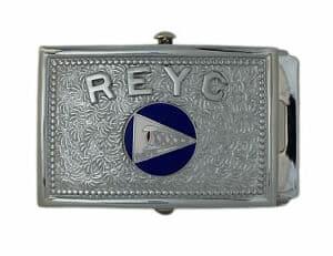 yacht club belt buckle