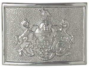 buckle with Pennsylvania state crest