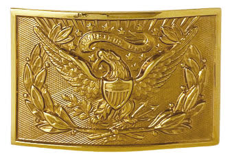 us army officer buckle