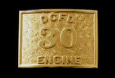 b4006 applied number fire dept buckle