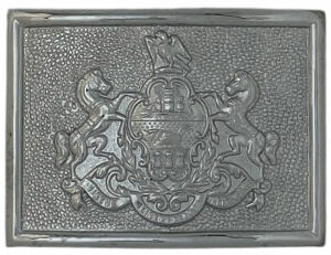 pa crest belt buckle