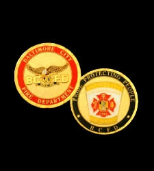 BCFD Challenge Coin
