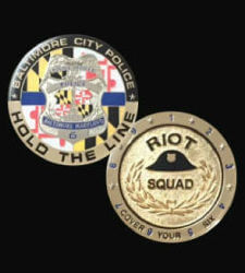 "BPD ""HOLD THE LINE"" Challenge Coin"