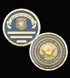 US Navy Master at Arms Coin