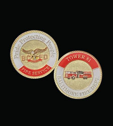 Tower 81 BCFD challenge coin