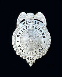 Reisterstown MD Badge