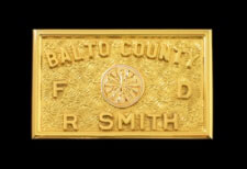 Baltimore County FD Belt Buckle