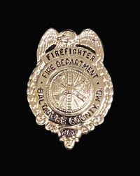 Baltimore County Fire Dept. badge