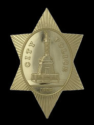 first issue bpd badge