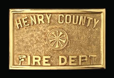 HENRY COUNTY BELT BUCKLE
