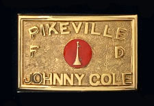PIKEVILLE FIRE DEPARTMENT BUCKLE
