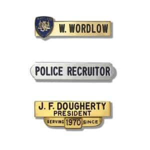 Customizable Name Plates