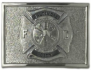 MALTESE BUCKLE WITH RANK INSIGNIA